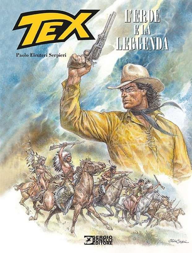 3 – il meglio del fumetto di ieri, oggi e domani #2.5 - Il Tex di Serpieri_3 - il meglio del fumetto