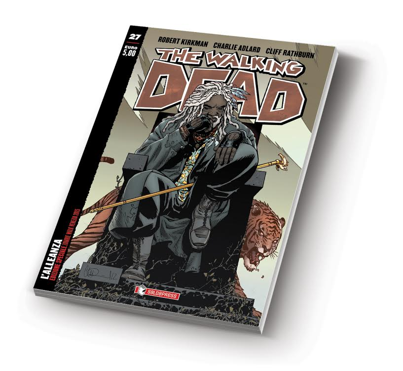 The Walking Dead 29 variant cover Zombie Walk Carnevale di Venezia: tutte le news