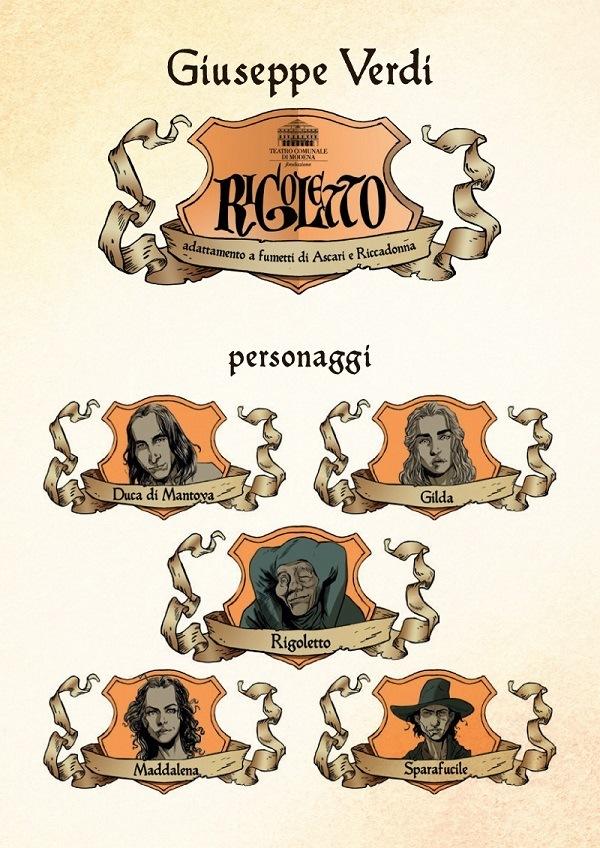 "Kleiner Flug presenta: ""Rigoletto"" di Ascari - Riccadonna"