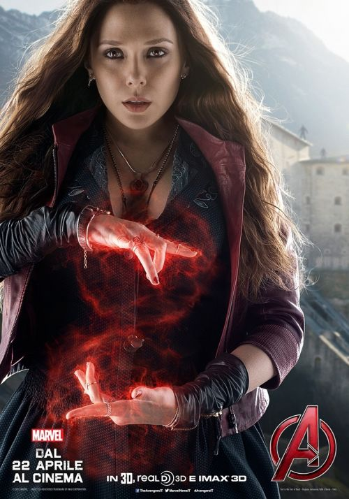 Avengers: Age of Ultron - Quicksilver e Scarlet Witch nei nuovi character poster_Notizie