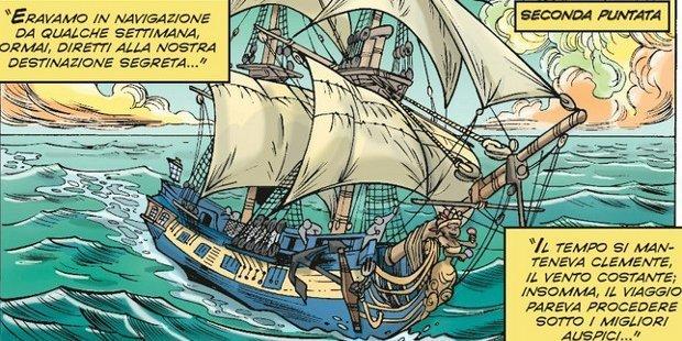 L'isola del tesoro: secondo tempo – Topolino #3095 (Teresa Radice, Stefano Turconi)