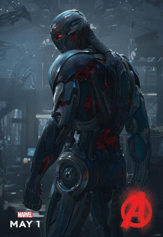 Avengers: Age of Ultron – Il character poster di Ultron