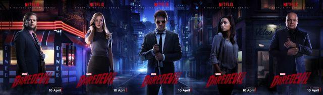 Cinque nuovi character poster per Daredevil