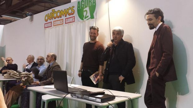 Cartoomics 2015: conferenza Dylan Dog