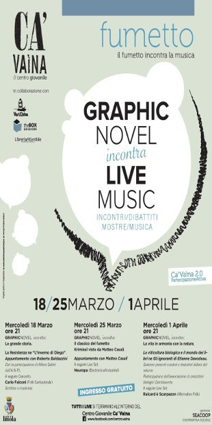 Graphic Novel Incontra - Locandina