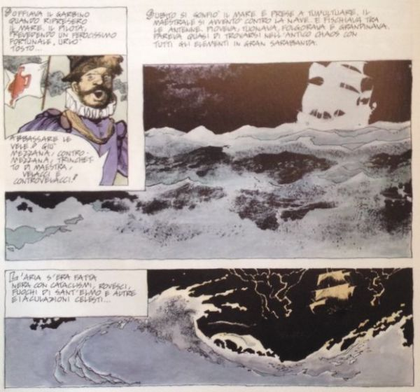 Esperienze grafiche di Dino Battaglia e Sergio Toppi