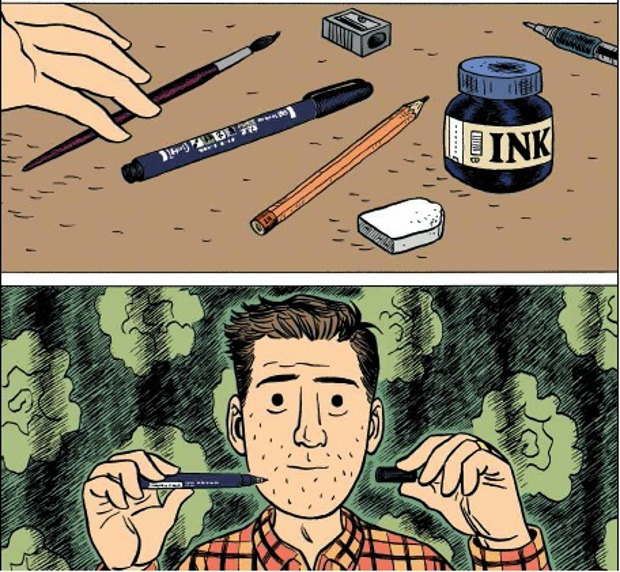 Sam Zabel e la penna magica di Dylan Horrocks: i fumetti ti faranno desiderare_Recensioni