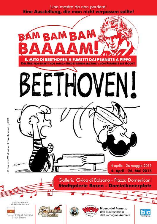 """""""Bam, Bam, Bam, Baaaam!"""" : mostra e concorso dedicati al mito di Beethoven"""