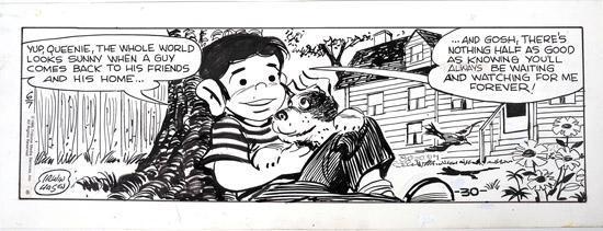 Addio a Irwin Hasen, disegnò l'orfano Dondi