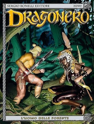 Dragonero #22 - L'uomo delle foreste (Luca Enoch, Walter Trono)