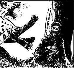 Fhal, il più intrigante dei personaggi nella più allucinata avventura dell'Adam Wild di Gianfranco Manfredi