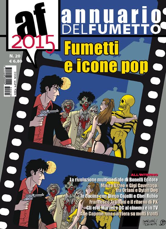 E' disponibile l'Annuario del Fumetto 2015 a cura di Fumo di China