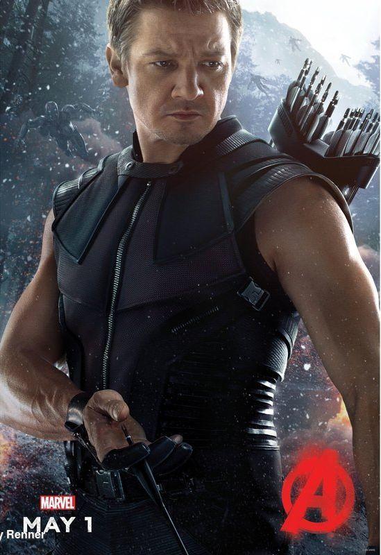 Avengers: Age of Ultron- Il character poster di Occhio di Falco