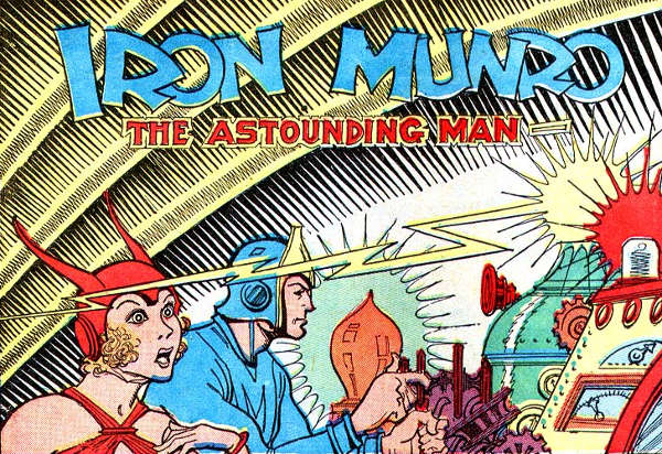 L'Iron Munro della Golden Age: un personaggio alla Flash Gordon o Adam Strange
