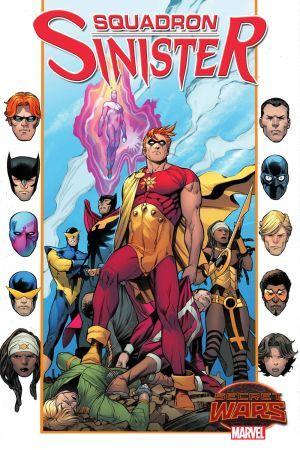 Tre nuove serie Marvel durante Secret Wars: torna lo Squadrone Sinistro