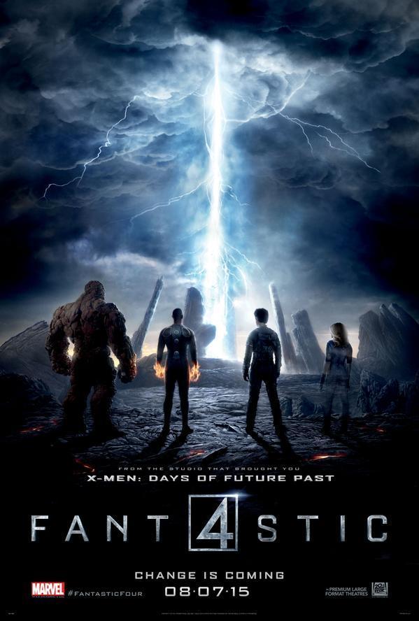 Fantastic 4 – I Fantastici Quattro: Il nuovo poster