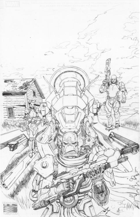 Sketch di Ron Ackins