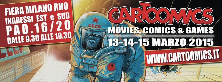 Gli appuntamenti Star Comics a Cartoomics 2015