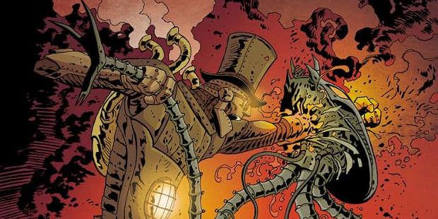 Lo Steam Man di Joe Lansdale diventa un fumetto della Dark Horse