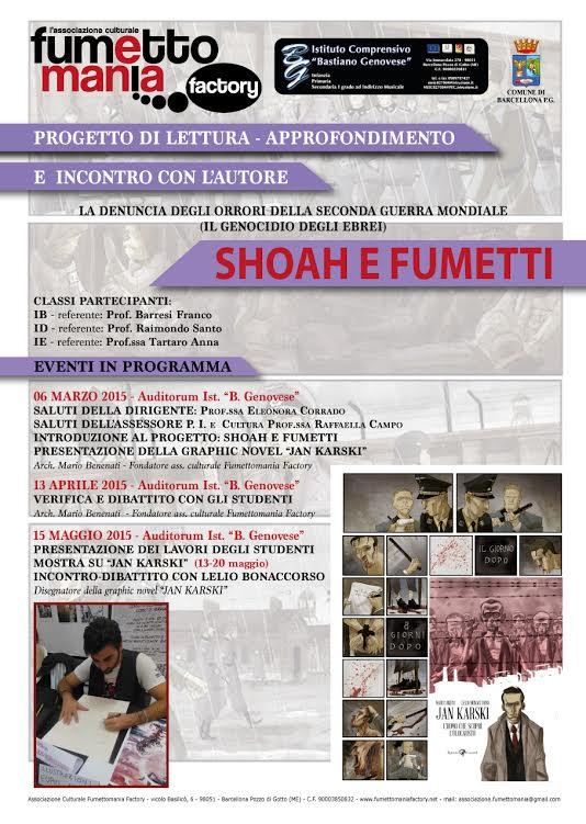 Le nuove iniziative dell'associazione culturale Fumettomania Factory