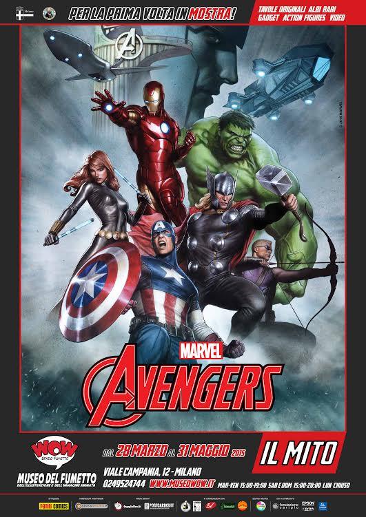 """Mostra evento al museo Wow di Milano: """"Avengers: il mito"""" dal fumetto al cinema"""