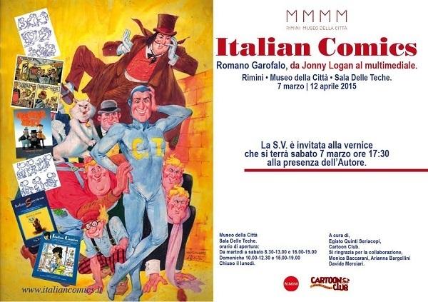 """Inaugurazione mostra """"da Jonny Logan al Multimediale"""" dedicata a  Romano Garofalo"""