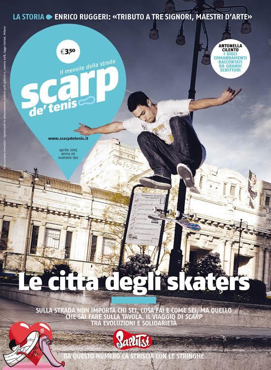 Arriva Paputsi, la nuova striscia a fumetti in esclusiva sulla storica rivista Scarp de' tenis_Notizie