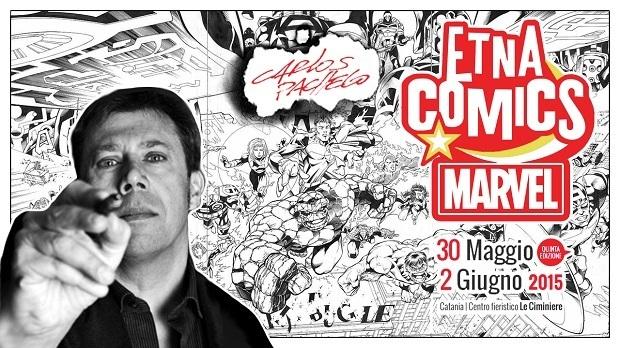 "Carlos Pacheco ""Superospite"" di Etna Comics 2015"