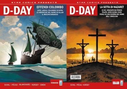 Gli universi paralleli di Star Comics Present, in esclusiva su D-Day