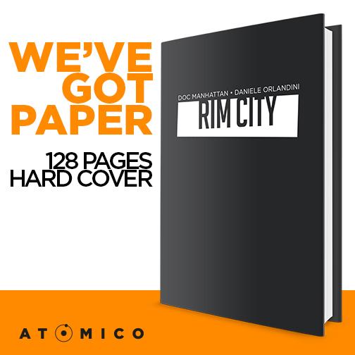 """I progetti di """"Atomico"""" arrivano anche su carta stampata"""