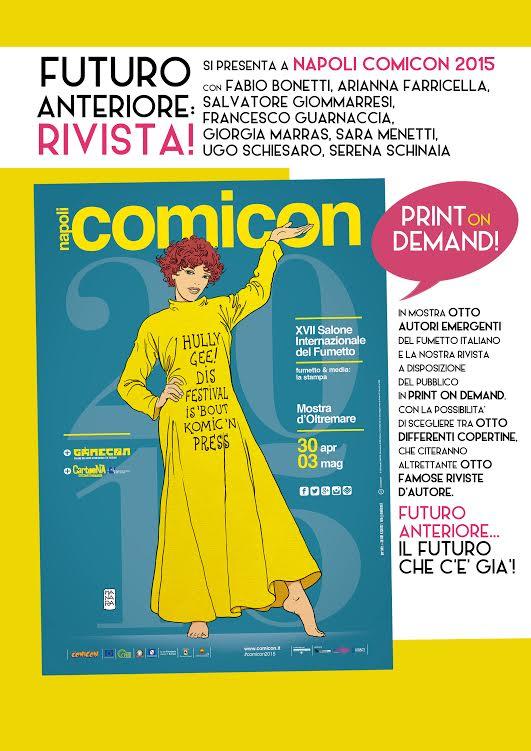 """Napoli Comicon e Cfapaz rilanciano la rivista """"Futuro Anteriore"""""""