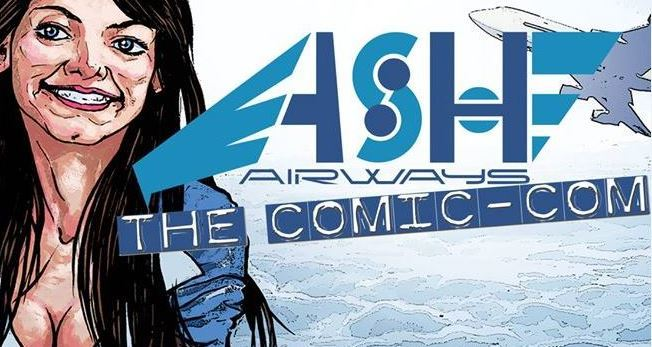 """Ash Airways"": webcomics, call center e crolli emozionali"