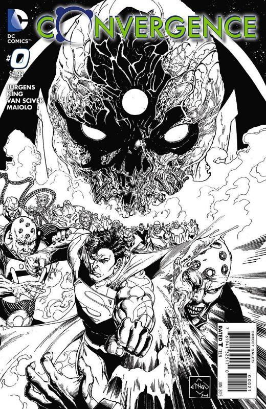 Anteprima di Convergence #0 il nuovo maxievento DC Comics_Anteprime