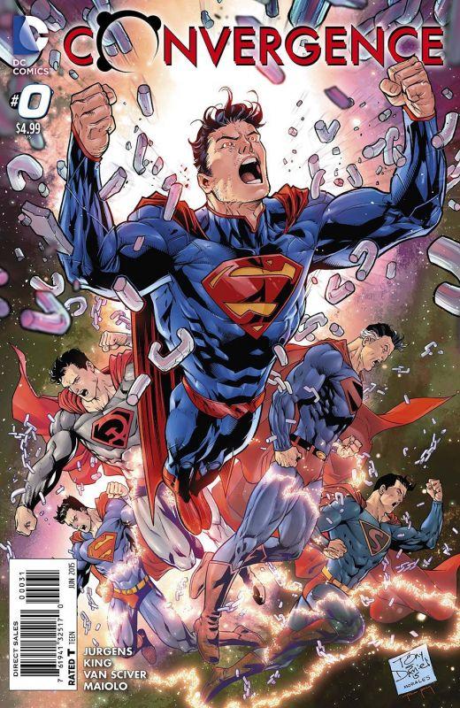 Anteprima di Convergence #0 il nuovo maxievento DC Comics