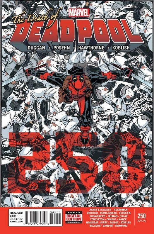 Deadpool #250: anteprima delle prime tavole