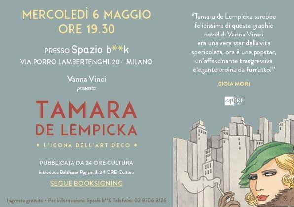 Invito Vanna Vinci Spazio BK 6 maggio Bassa