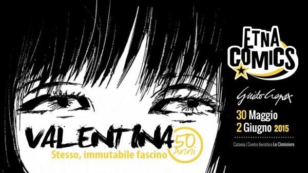 Locandina-Mostra-50-anni-Valentina-ad-Etna-Comics-2015-e1429611604417