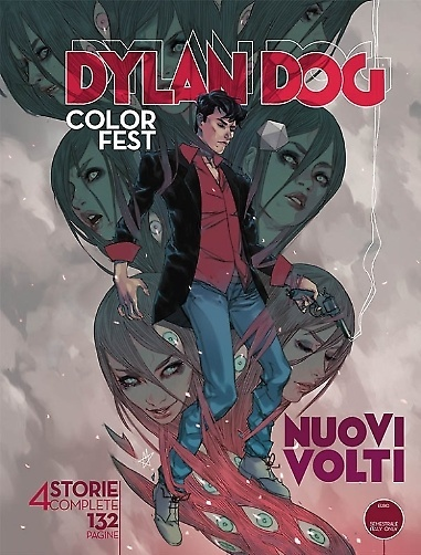 Dylan Dog Color Fest #14 – Nuovi Volti (AA.VV)