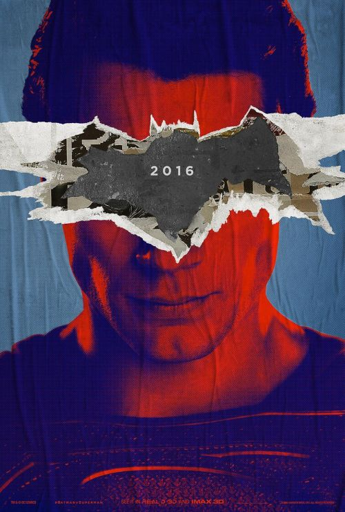 Due teaser poster di Batman V Superman: Dawn of Justice