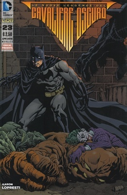 Le nuove leggende del Cavaliere Oscuro #23 (Aaron Lopresti)