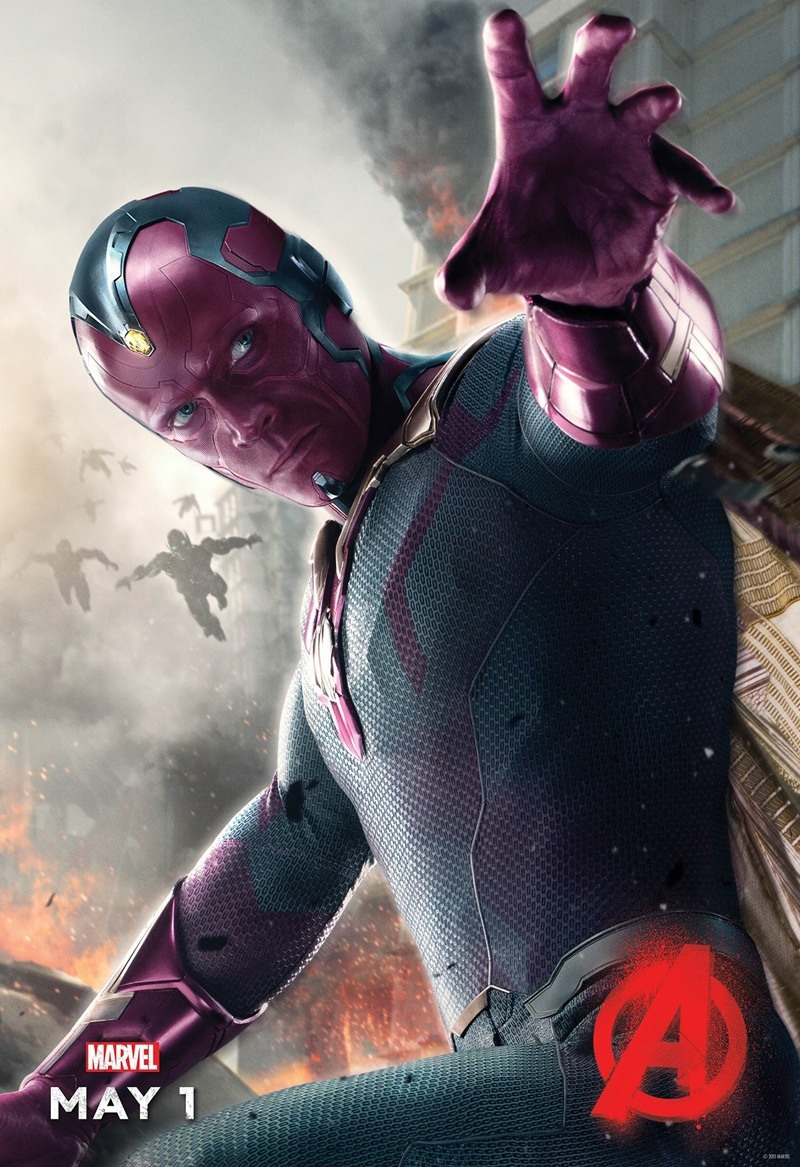 Avengers: Age of Ultron - Il character poster di Visione