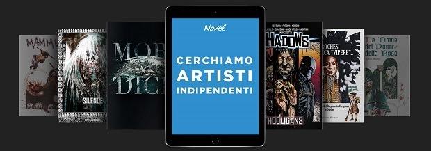 """Arriva """"Novel"""": la rivoluzione digitale dei fumetti"""