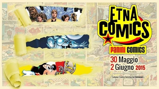 Panini Comics ad Etna Comics 2015