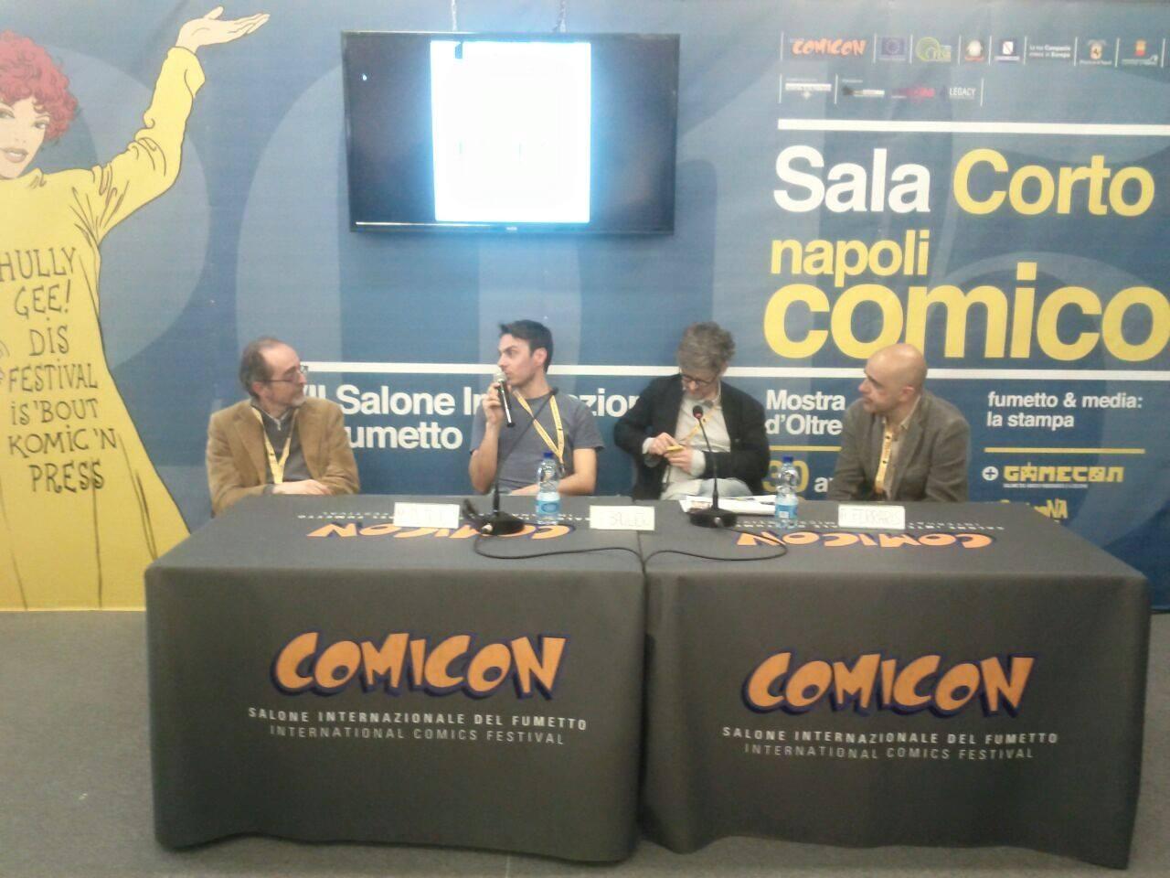 Comicon 2015: incontro con Coconino Press