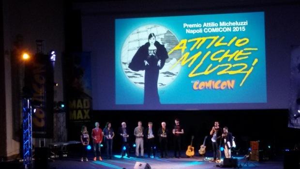 Napoli Comicon 2015: i Premi Micheluzzi