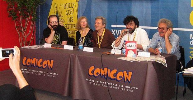 Comicon_presentazione Linus_evidenza