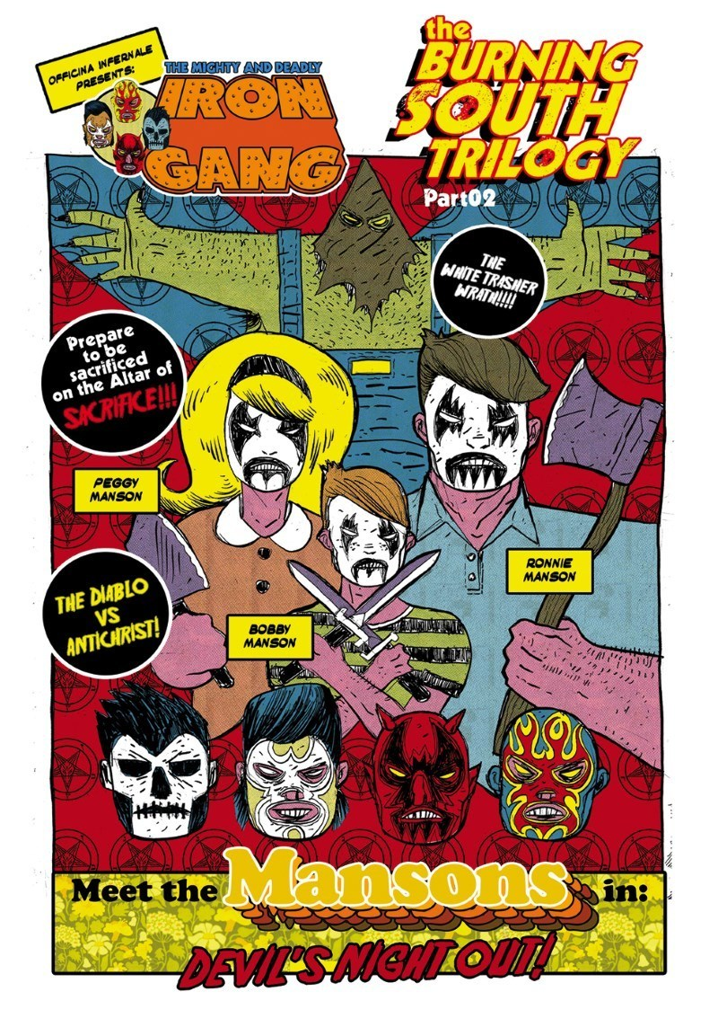 The Mighty and Deadly Iron Gang #3 – The burning south trilogy part 02