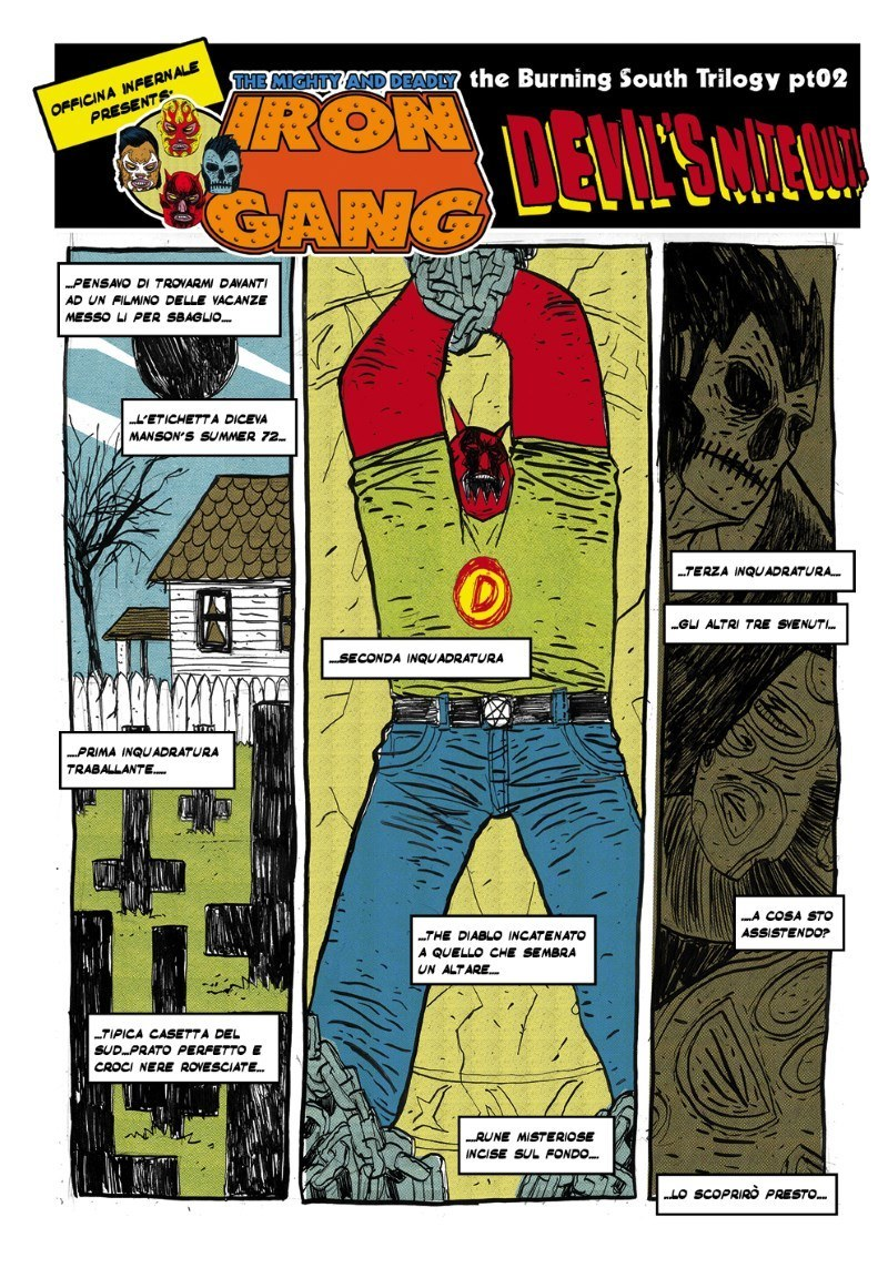The Mighty and Deadly Iron Gang #3 - The burning south trilogy part 02_The Mighty and Deadly Iron Gang