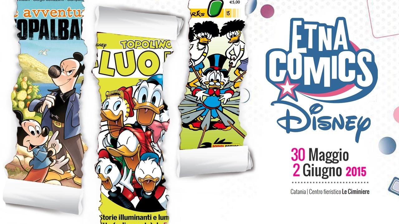 Locandina Disney ad Etna Comics 2015