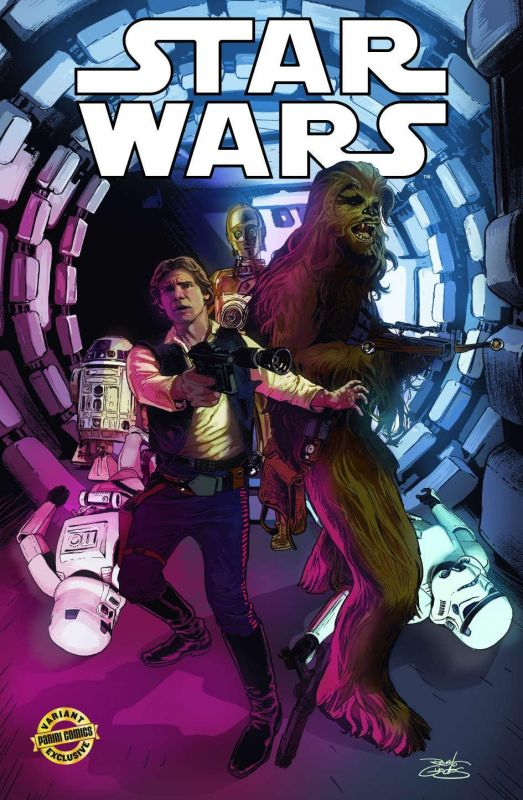 STAR WARS 1 VARIANT DI RENATO GUEDES
